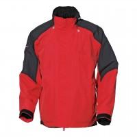 【LeVon】男防水透濕保暖外套-紅(內層黑)-LV3153