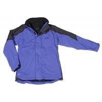 【LeVon】男防水透濕保暖外套-寶藍(內層黑)-LV3155