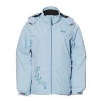 【LeVon】女防風潑水刷毛外套-煙藍-LV3178