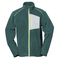 【LeVon】男雙刷毛保暖夾克-松葉綠-LV3186