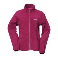 【LeVon】女雙刷毛保暖夾克-葡萄紫-LV3191