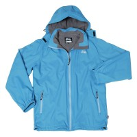 【LeVon】男保暖外套-孔雀藍-LV3339