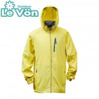 【LeVon】男抗紫外線單層風衣-芥末黃-LV3458