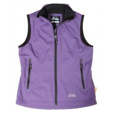 【LeVon】女保暖背心-深紫-LV5335