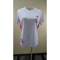 【LeVon】女吸濕排汗抗紫外線圓領衫-LV6108