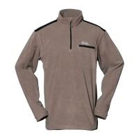 【LeVon】男雙刷毛保暖上衣-茶褐-LV8125