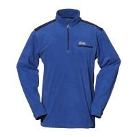 【LeVon】男雙刷毛保暖上衣-暗藍-LV8126