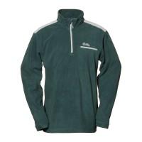 【LeVon】男雙刷毛保暖上衣-松葉綠-LV8127